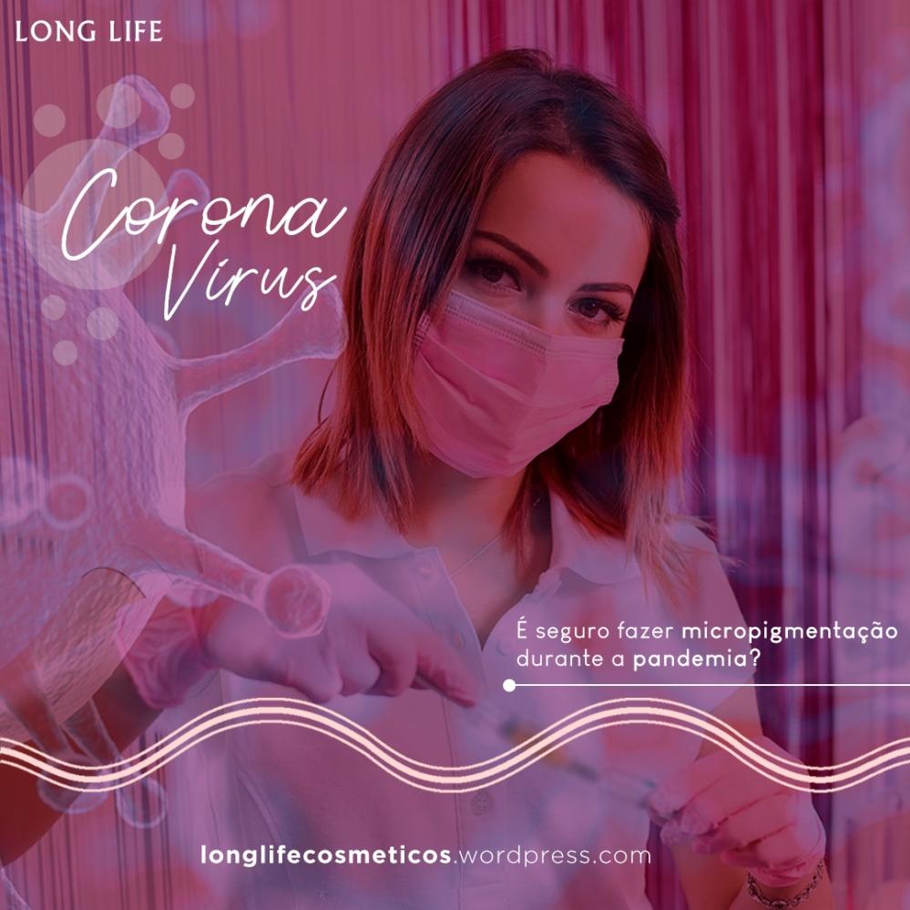 Corona vírus - segurança micro